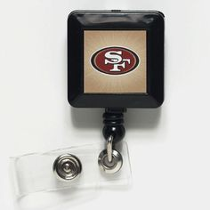 San Francisco 49ers Retractable Badge Holder