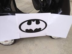 batmobile from a cozy coupe batlogo If Batman Ever Had a Cozy Coupe as a Kid it Would Look Like This