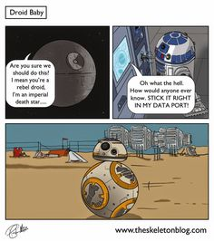 "Chris von Eitzen on Twitter: ""Droid Baby #StarWars #DeathStar + #R2D2 = #BB8 :-) #Giggles (Source: https://t.co/jcl1vpzaeF) https://t.co/9WXfV0NIpG"""