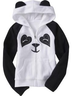 Panda hoodie from Old Navy! Fat Panda, Panda Party, Panda Love, Old Navy Girls, To My Daughter, Cute Outfits, Fashion Outfits, Hoodies, My Style