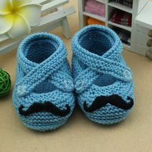 Baby Shoes by Crochet- Cute Baby Shoes, Baby Boy Shoes, Crochet Mustache, Crochet Hooded Cowl, Crochet Humor, Funny Crochet, Step By Step Crochet, Baby Moccasins, Crochet Baby Booties