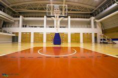 Perfect surface for all Indoor sports like #Basketball, #Badminton, #Volleyball, #Handball, #TableTennis etc! #Malibutech #India