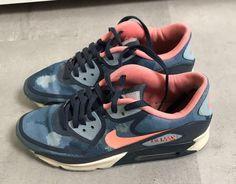 Nike air max 90 blue & pink