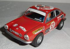 Seat 850 Coupé. Rally Costa del Sol 1969 SCALEXTRIC. Altaya