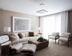 10 salas de estar claras