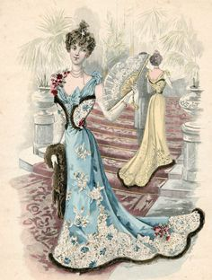 From The Netherlands loves vintage and/or shabby chic,Rufus Sewell and the Royal Family of French music Jacques Dutronc,Françoise Hardy and Thomas Dutronc Victorian Women, Edwardian Era, Victorian Vampire, Victorian Corset, 1890s Fashion, Edwardian Fashion, Retro Fashion, Fashion Art, Vintage Fashion