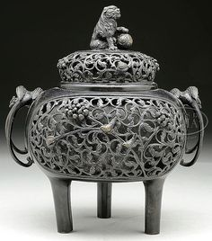 Chinese Incense Burners posted by Sifu Derek Frearson
