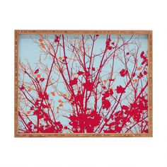Rosie Brown Happy Autumn Rectangular Tray | DENY Designs Home Accessories #tray #rectangular #art #denydesigns #homedecor