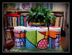 Reuse Herbalife containers :o)