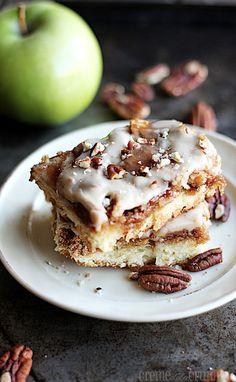 Maple Pecan Apple Pie Bars Recipe