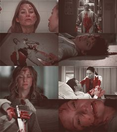 Grey's Anatomy #Bloody  That last pic.