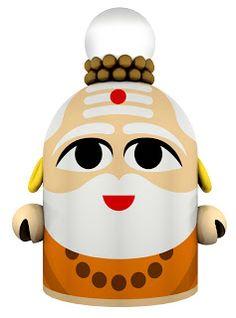 Gurudeva em Toy Art
