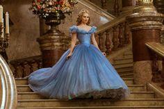 that film--- dress - Lily James em Cinderela