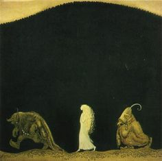 The Trolls and The Girl John Bauer, Arthur Rackham, Kay Nielsen, Sculpture, Brian Froud, Mythology, Toulouse, Fairytale Art, Rodin