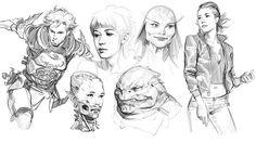 ArtStation - February Sketches..., John Grello