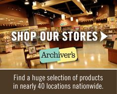 Archiver's is your store for creative supplies for scrapbooking, card-making, and paper-crafting and more!