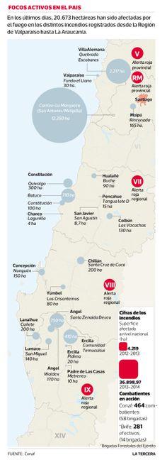 """Santiago: nivel de esmog cae y aire es """"regular"""" #Chile enero 2014"""