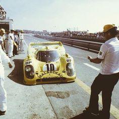 Bob Wollek/Guy Chasseuil/Xavier Lapeyre, Porsche 917K/81, Le Mans 24 Hours, 1981.