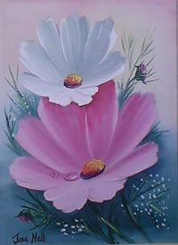 south african artist June Nell paintings
