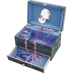 Musical Swan Lake Ballerina Jewellery Box!