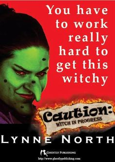 Official promotional poster for 'Caution: Witch in Progress'!