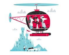 daily mail illustration by david semple, via Behance