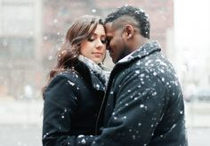 28 Cold Weather Engagement Photos That Will Warm Your Heart   The Huffington Post