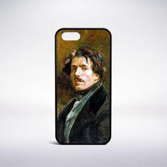 Eugene Delacroix - Self-Portrait Phone Case