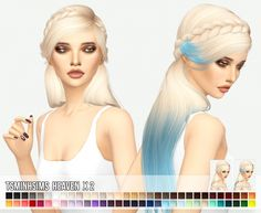 Tsminh Heaven hair X2 at Miss Paraply • Sims 4 Updates