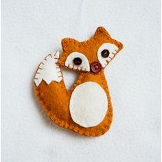 Fox ornament felt, handmade, Christmas ornament, Birthday gift,... (1.935 HUF) ❤ liked on Polyvore featuring home, home decor, holiday decorations, handmade felt ornaments, hand made christmas ornaments, handmade felt christmas ornaments, hand made ornaments and hand crafted christmas ornaments