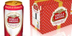 Stella Artois Limited Edition Christmas Packaging. FANCY!