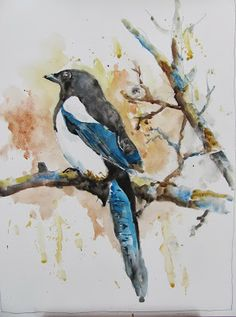 The Watercolour Log: Back to Painting