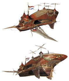 final fantasy airship | Red Rose - The Final Fantasy Wiki has more Final Fantasy information ...