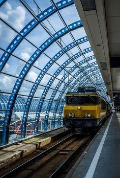 Station Sloterdijk, Amsterdam.