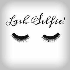 Lash selfie station #eyelash
