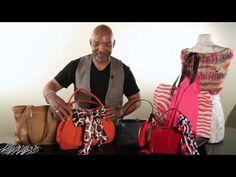 How to Attach a Scarf to a Handbag : Handbag Ideas - YouTube