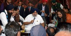 Entire Punjab is ready to fight the battle against SYL and save Punjab's waters. Interacting with people over other matters was deeply gratifying as I instructed the officials present to redress the grievances of the people at the earliest. Development centric grants worth approximately Rs. 6 crores were also distributed yesterday. #AkaliDal #SukhbirSinghBadal #DevelopingPunjab #MogaRally   #Punjab