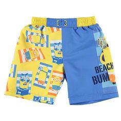 Boys Despicable Me Minion Swim Shorts