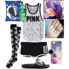 Untitled #33 by blended-try on Polyvore featuring polyvore fashion style HUF MARC BY MARC JACOBS BlissfulCASE