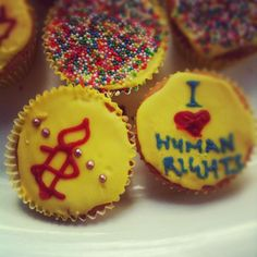 Some yummy cupcakes a school group made to raise money for Amnesty International! Human Rights Day, Amnesty International, Social Entrepreneurship, Yummy Cupcakes, How To Raise Money, Change The World, Baking, Breakfast, Fundraisers