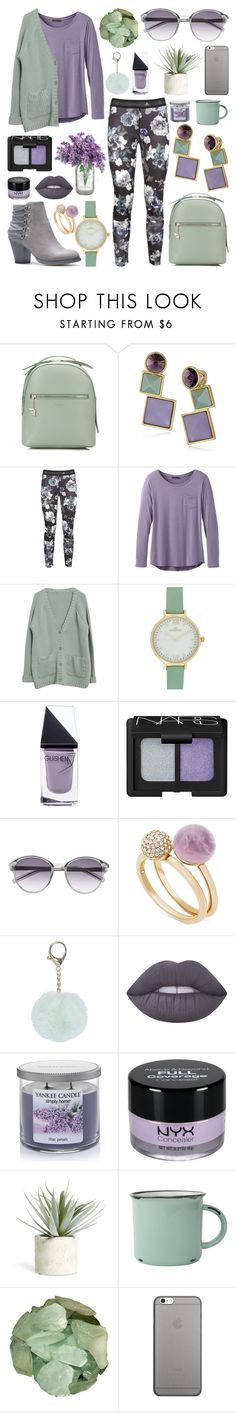 """""""Untitled 184"""" by meaganmuffins ❤ liked on Polyvore featuring Fiorelli, Rebecca Minkoff, adidas, prAna, GUiSHEM, Witchery, Michael Kors, Lime Crime, Yankee Candle and NYX"""
