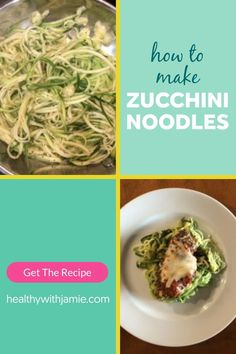 Following a low carb, keto or gluten free diet doesn't mean you have to give up noodles! Zucchini noodles are an easy and tasty alternative that can go in pretty much anything - pasta dishes, sides, or even chicken zoodle soup. Learn how to make zucchini noodles here and let me know your favorite way to eat them. #keto #glutenfree #lowcarb #healthyeating Gluten Free Menu, Gluten Free Diet, Gluten Free Recipes, Keto Recipes, Healthy Recipes, Chicken Zoodle Soup, Clean Eating, Healthy Eating, Sugar Free Diet