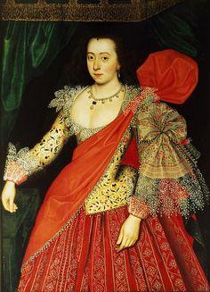 Lettice Knollys, Daughter of Henry Knollys, Grand Daughter of Catherine Carey, Great-Grand Daughter of Mary Boleyn