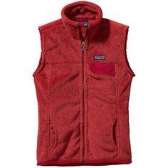 Patagonia Women's Re-Tool Vest ($109) ❤ liked on Polyvore featuring outerwear, vests, tops/outerwear, pocket vest, vest waistcoat, zipper vest, zip vest and patagonia vest