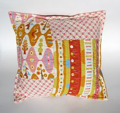 back of pillow is just as beautiful...Piece & Press