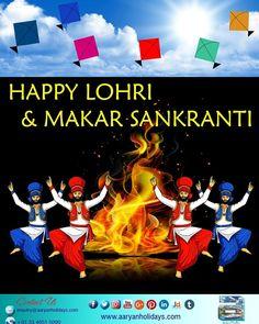 Wish you all Happy Lohri & Makar Sankranti...!!!