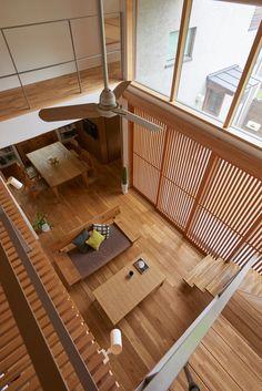 Modern Japanese Interior, Japanese Modern House, Japanese Interior Design, Japanese Home Decor, Home Interior Design, Modern Architecture House, Interior Architecture, Japan House Design, Casa Loft