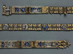 Belt for a Lady's Dress, Siena, Italy. c. 1375-1400