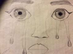 I'm 12 years old my names Fabiola and I got bored now math class so I decided to draw..this is what I came up with.