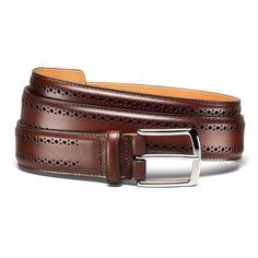 Manistee - Men's Premium Leather Dress Belts by Allen Edmonds